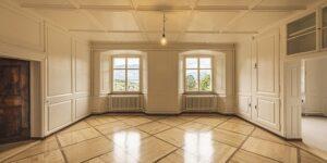 интересное оформление комнаты